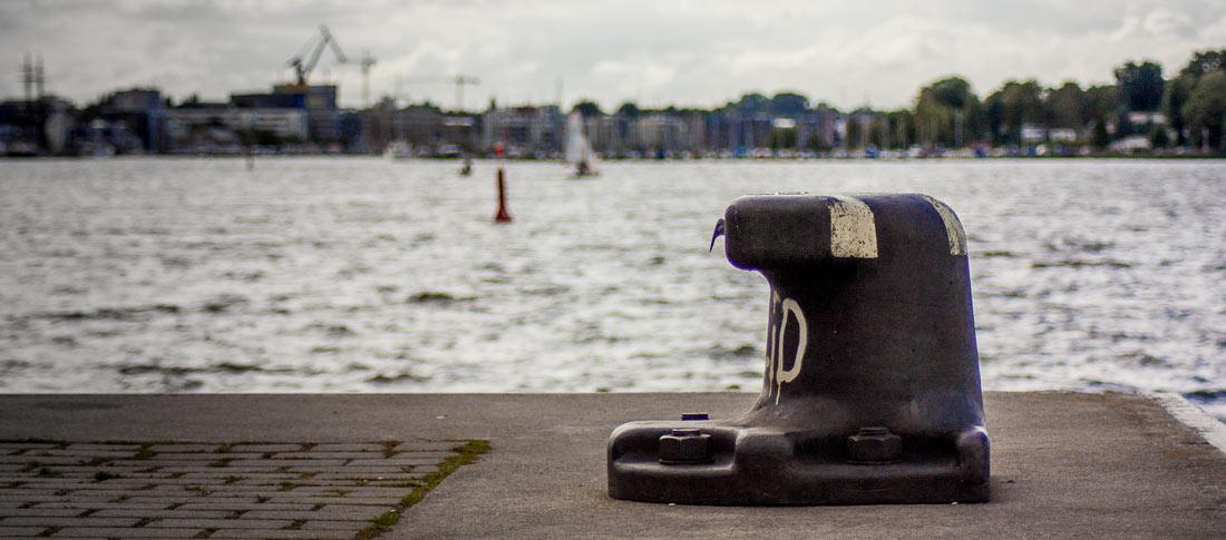 Der Stadthafen in Rostock
